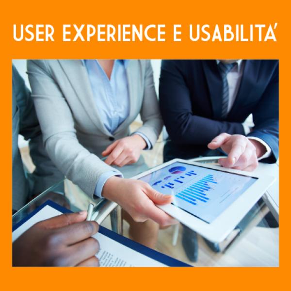 Corso User Experience Usabilità