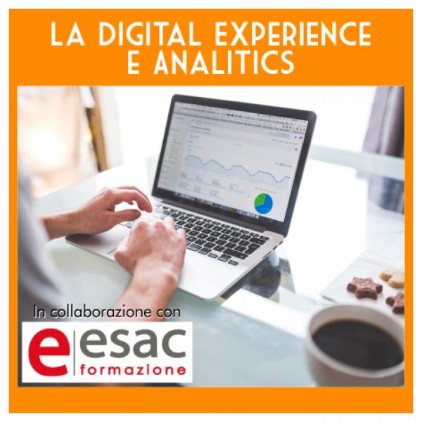 Corso Digital Experience e Analytics